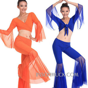 C91811-Belly-dance-costume-Tribal-BellyTop-Top-Trousers