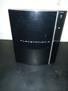 Sony PlayStation 3 80GB Black Console. Cechk01 console only