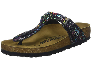 ec2895e6a4c Image is loading BIRKENSTOCK-GIZEH-Oriental-Mosaic-BLACK-multi-NORMAL-6-