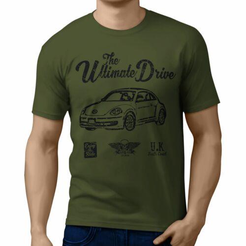 JL Ultimate illustration for a Volkswagen Beetle 2012 Motorcar fan T-shirt