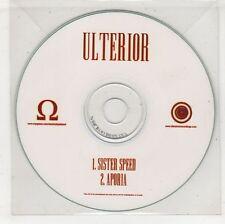 (GW678) Ulterior, Sister Speed - DJ CD