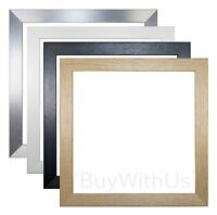 3D Box Frame Range  Picture Photo Frame Display, Various Sizes Front Mount