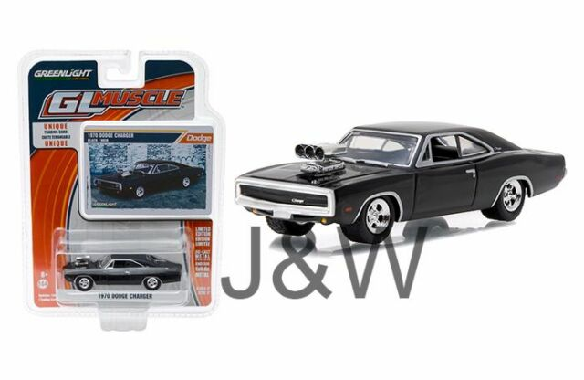 Greenlight 1 64 Gal Muscle Series 17 1970 Dodge Charger With Blower
