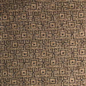 High Quality Square Beige Black Chenille Fabric Woven Upholstery Cushion BF007