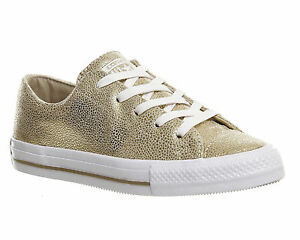 35290e426976a7 Mens Converse Ctas Gemma Low Leather LIGHT GOLD STINGRAY LEATHER ...