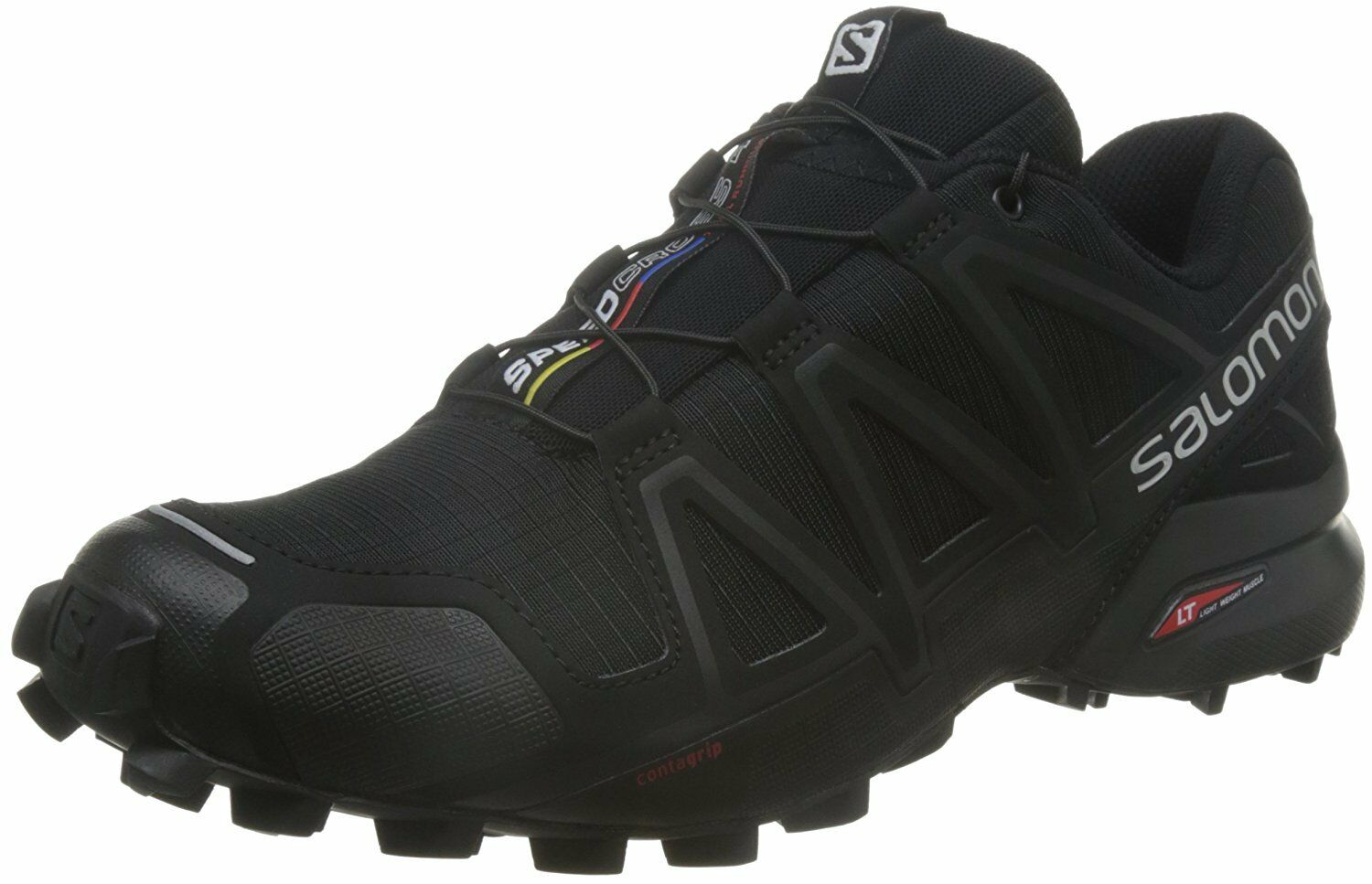 Salomon Mens SPEEDCROSS 4 Athletic schuhe, schwarz A1U8, 12 M US