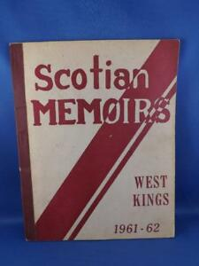 SCOTIAN-MEMOIRS-WEST-KINGS-1961-62-AUBURN-NOVA-SCOTIA-HIGH-SCHOOL-YEARBOOK