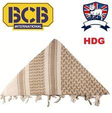 BRITISH ARMY GENUINE BCB CREAM SAND SHEMAGH (DESERT TAN BEIGE) ARAB SCARF