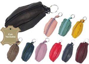 Porte monnaie bourse grain de caf 2 fermetures porte clef cuir hommes femmes ebay - Porte monnaie grain de cafe ...