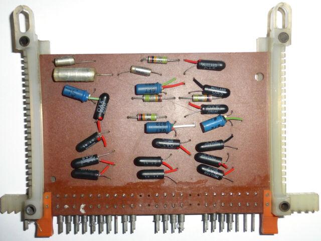 2 cartes de logique diode et transistor germanium UK années 55/60