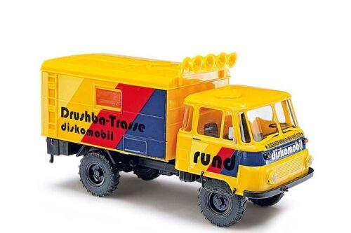 Diskomobil Neu Busch 50231-1//87 H0 Robur Lo 2002 A