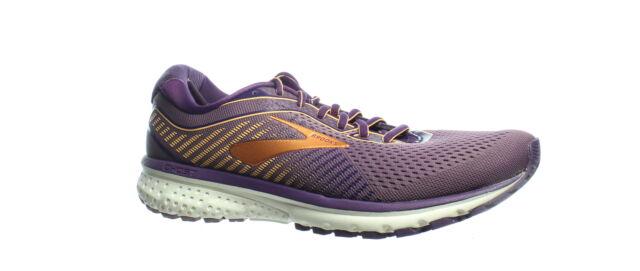 Brooks Womens Ghost 12 Jewel/Grape/Cantaloupe Running Shoes Size 11.5 (1437463)