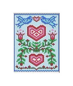 BLUEBIRD FAMILY PONY BEAD BANNER PDF PATTERN ONLY