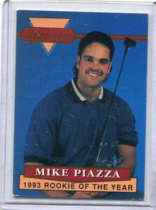Details About 1993 Ultra Pro Card Mike Piazza Rookie Los Angeles Dodgers Nr Mt 3 Of 6