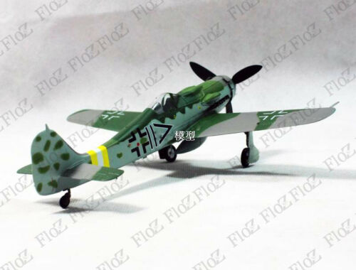 WWII German Fw190 D-9 IV.//JG2 1945 1//72 aircraft finished plane Easy model