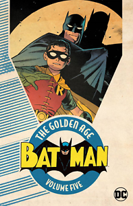 Batman The Golden Age Volume 5 Paperback DC Trade Detective