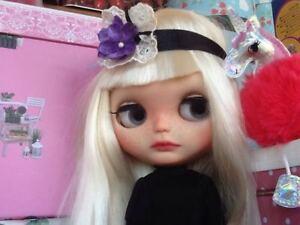 Ooak Custom Blythe De Brit.ma.kiss