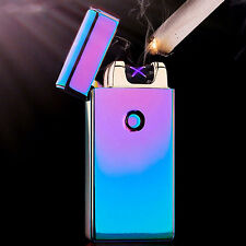 USB Charging Rechargeable Electronic Windproof Cigarette Cigar Lighter 7 Colors