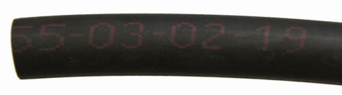 Honda Fuel Hose Black Rubber New OEM 5.5MM ID X 70MM Long YUSA 950015507060