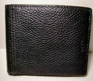 Fossil Tyler RFID Bifold Wallet Black