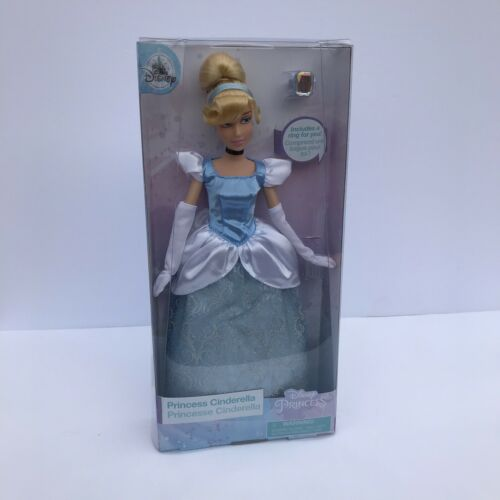 Disney Classic Princess Cinderella Figure Poseable Toy Doll 12/""