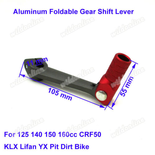 Gear Shifter Lever For 50 70 90 110 125 140 150 250cc CRF50 KLX Lifan YX Bike