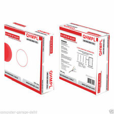 Quantum 100 mtrs  Cat5e Networking lan Alloy cbale roll, Cat 5 4 pair cable