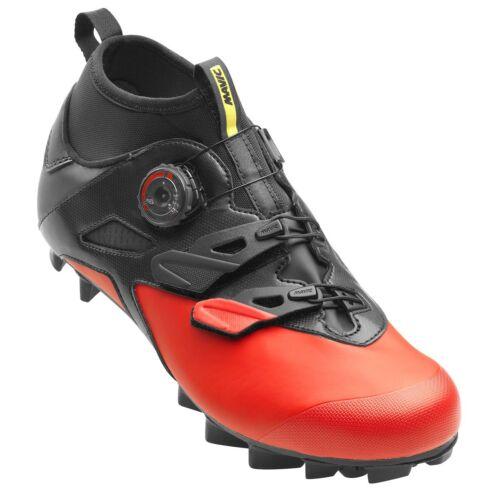 wasserdicht Rot Fahrradschuhe Mavic Crossmax Elite CM MTB Mountainbike Schuhe