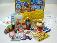 Re-Ment 2003 Supermarket Part 1 Japanese Food & Grocery Miniature Set of 5