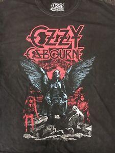OZZY-OSBOURNE-Angel-Wings-Black-Rain-T-Shirt
