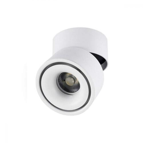 CHMPH Indoor 10W LED Spotlight 360°Adjustable Ceiling Downlight//Surface...