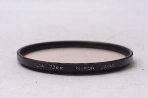 Ship-in-24-Hours-Nikon-L1A-72mm-Black-Frame-Lens-Filter-from-Japan