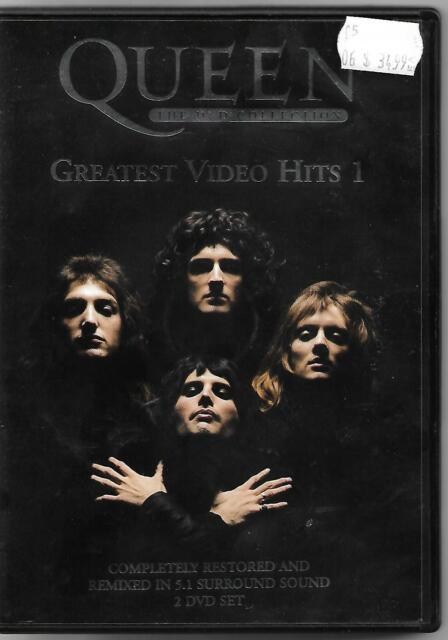 Queen - DVD - Video Hits 01 (DVD, 2-Disc) Freddy Mercury - OVER 2 HOURS - Rare !