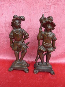 2 Schöne,alte Bronzefiguren__schweizer Garde__je. 23cm ! Gute QualitäT