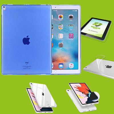 Liberale Per Apple Ipad Pro 11.0 Pollici 2018 Blu Guscio Custodia Cover + H9 Vetro Duro Case- Prezzo Di Vendita