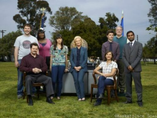 "Parks And Recreation Poster 16/""x24/"""