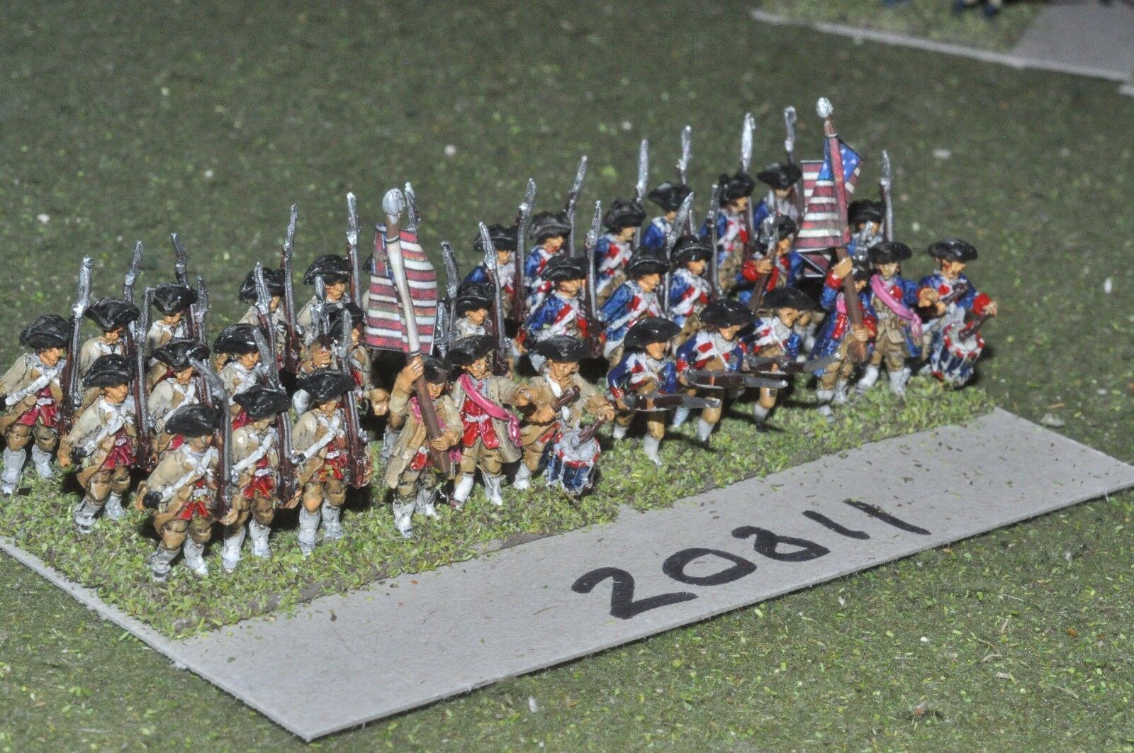 15mm AWI   american - infantry 36 figs - inf (20811)