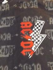 AC//DC Lightning Bolt Horns /& Tail Adult T Shirt Heavy Metal Music
