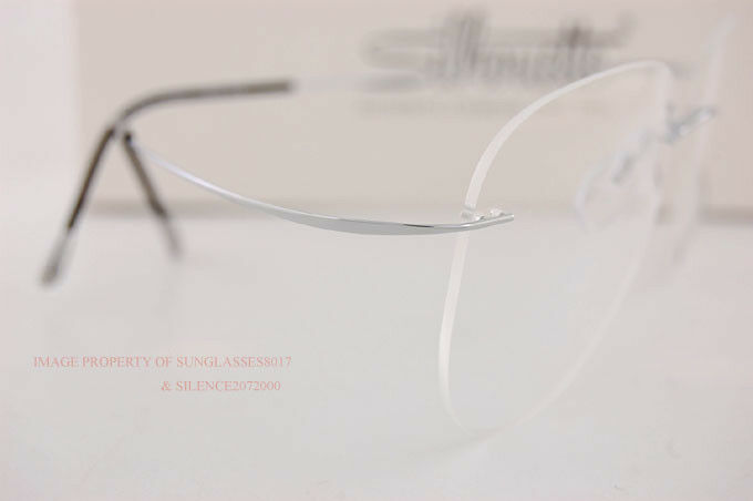 5529fd283a38 Silhouette Eyeglass Frames TMA Must Collection 5515 Cm 7010 Silver TITAN 55  for sale online | eBay