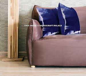 Indian-Shibori-Cotton-Cushion-Cover-Indigo-Throw-Pillow-16-034-Tie-Dye-Pillow-Shams