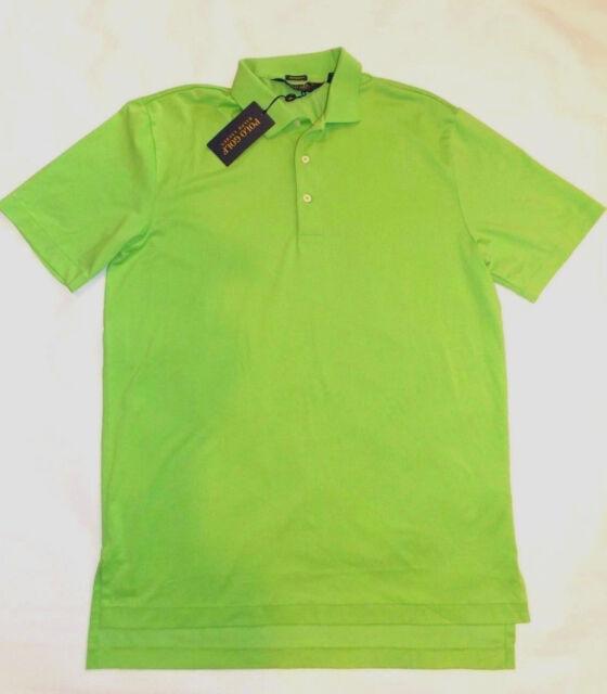 men's NEW Ralph Lauren POLO Golf Performance collar Shirt M Medium mens Green