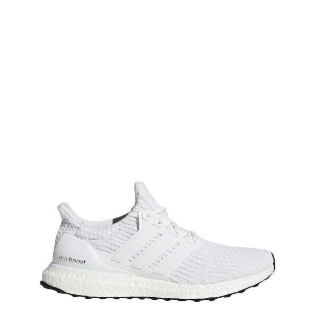 6d5655d86d2ac Authentic Men s Adidas UltraBoost 4.0 Running Shoe White Ultra Boost -  BB6168