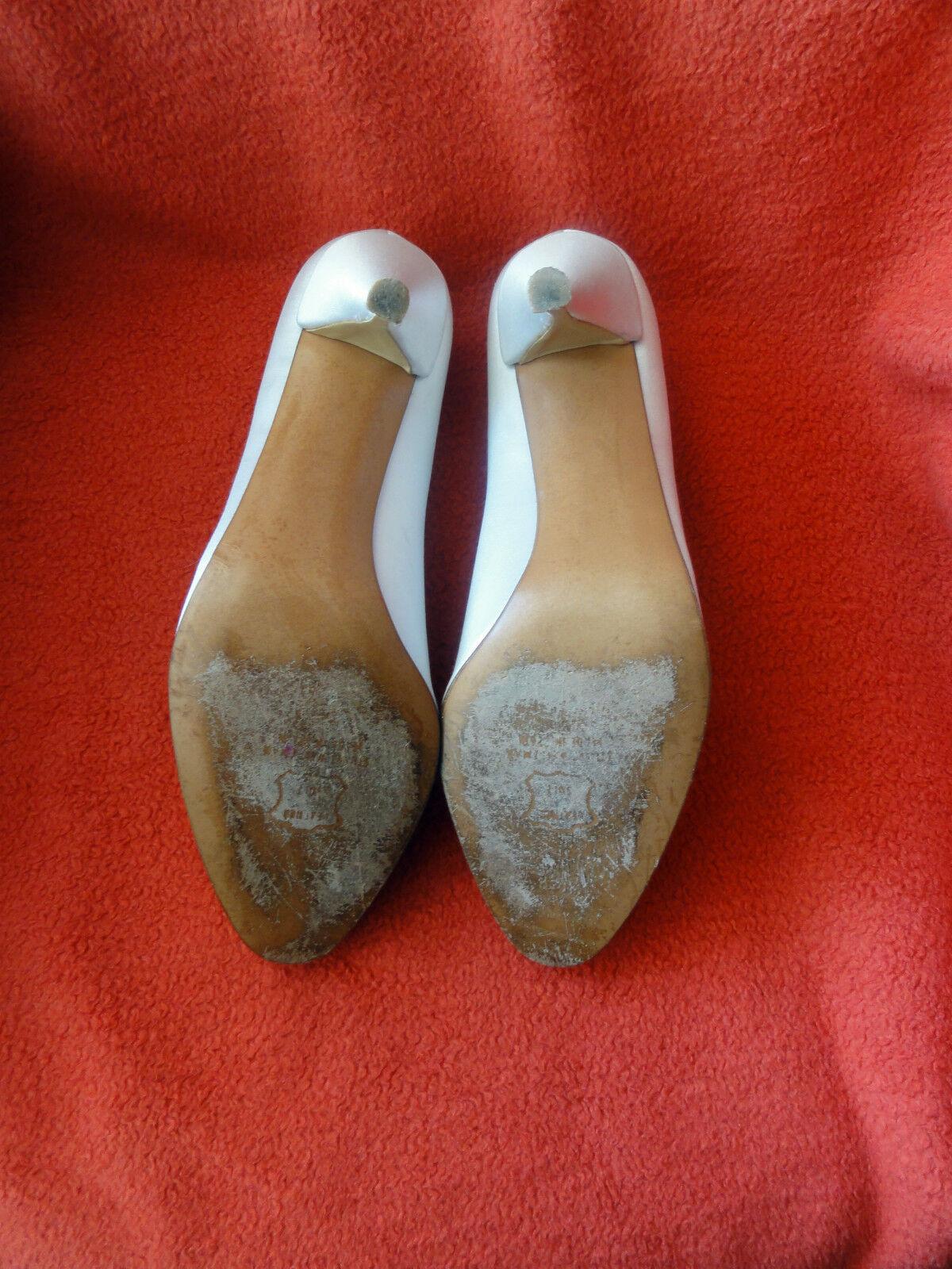 Stuart Weitzman festliche Schuhe Pumps,High 37 Heels - TOP Gr.ca. 37 Pumps,High -7,5 M in Weiß 4e09ce