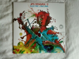 JIMI HENDRIX Electric ladyland French only cover 2LP gatefold