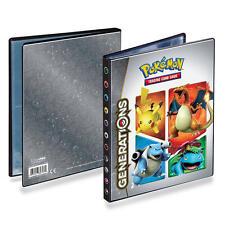Pokemon Generations 20th Anniversary 4-Pocket Portfolio Binder for Trading Cards