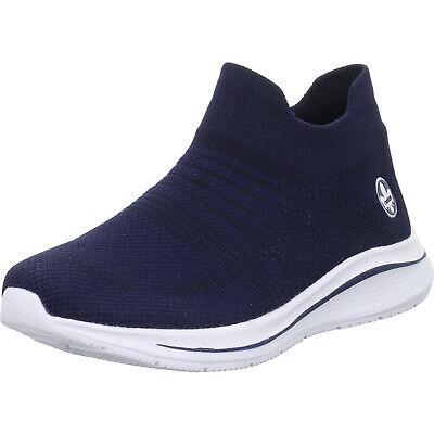 Rieker Damen Sneaker blau N9862 14