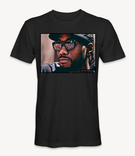 Kawhi Leonard Photo Collage T-Shirt