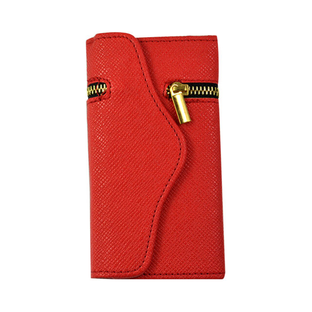 Zipper Folio Leather Wallet Flip Hard Case Cover Card Holder iPhone 6/ 6S/ Plus