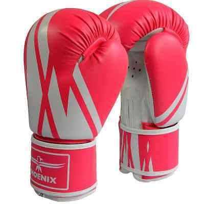 DAX JUNIOR Dax-Sports- BOXHANDSCHUHE 6oz-8oz Boxen ROT//WEIß Kickboxen.