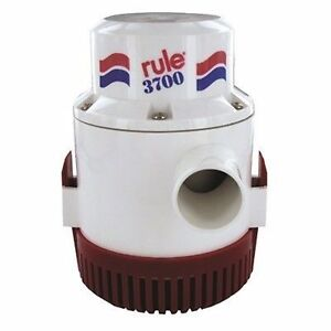 rule non automatic bilge pumps 3700 gph 24 volt submersible marine Bilge Pump Wiring image is loading rule non automatic bilge pumps 3700 gph 24